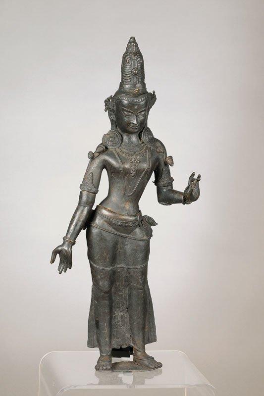 Large Padmapani-Sculpture, Tibet