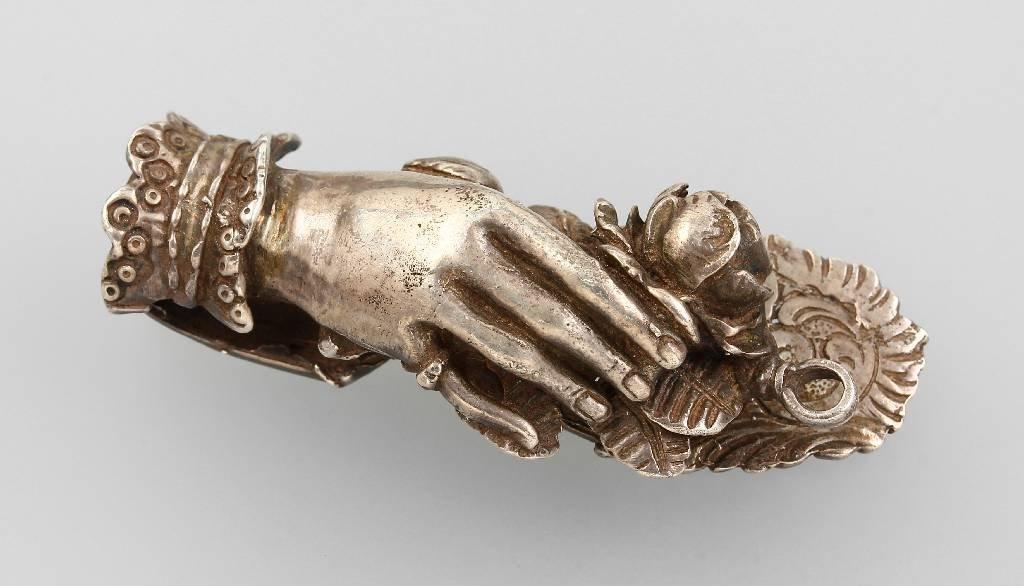 Belt application, so-called 'Handtreu', Moscow1866,