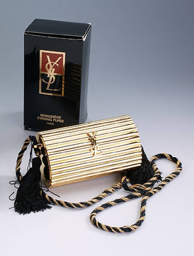 YVES SAINT LAURENT, handbag, Minaudiere EveningPurse