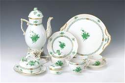 coffee set Herend 20th C