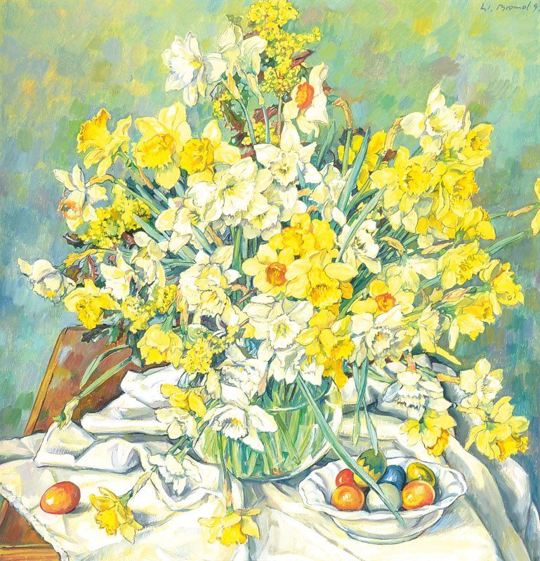 Werner Brand, born 1933, oil on canvas