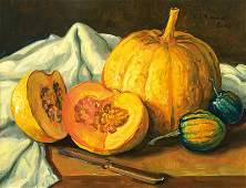 Werner Brand, born 1933, oil on plate