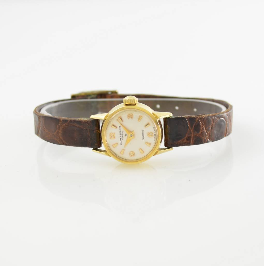 BAUME & MERCIER 18k yellow gold ladies wristwatch