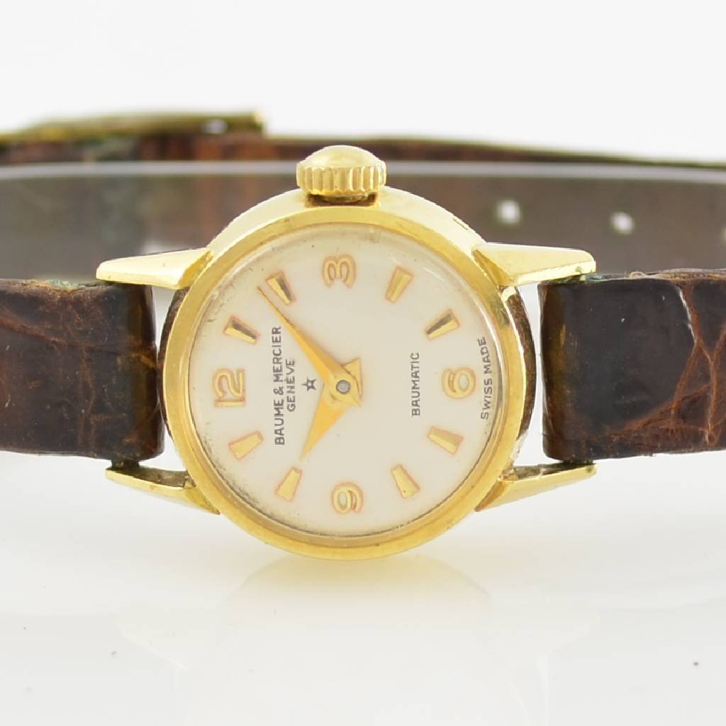 BAUME & MERCIER 18k yellow gold ladies wristwatch - 2