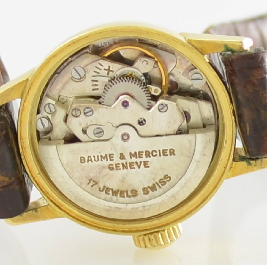 BAUME & MERCIER 18k yellow gold ladies wristwatch - 6
