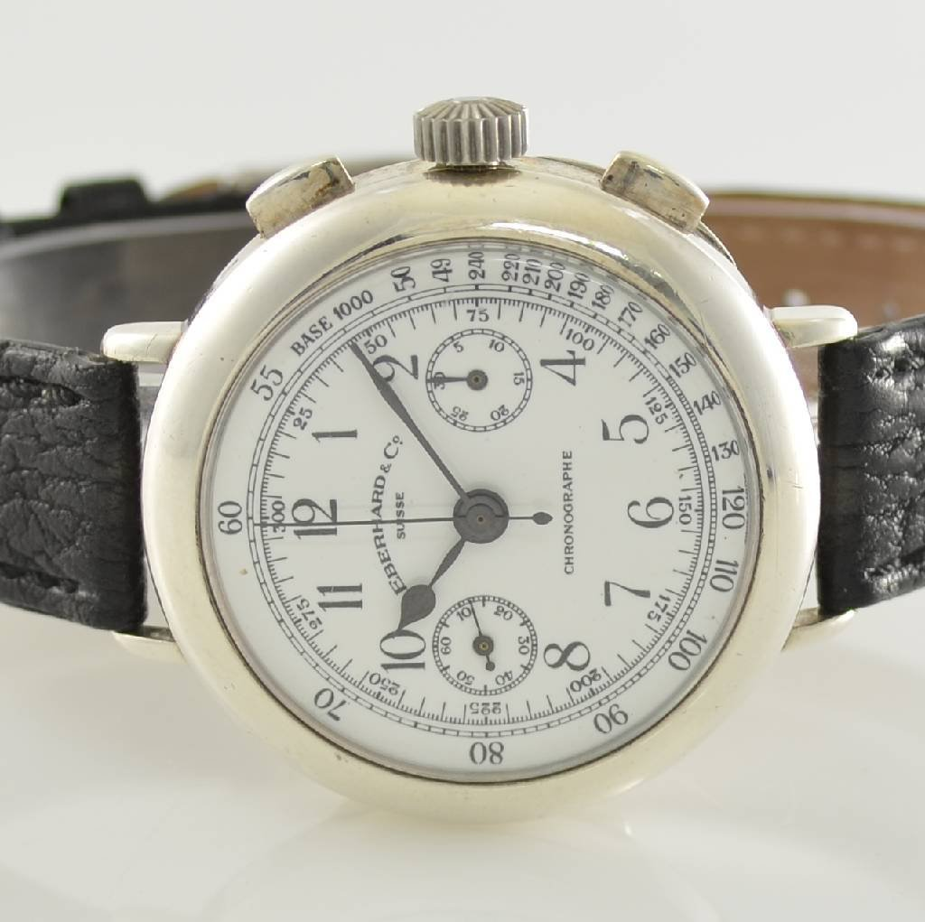 EBERHARD & Co. gents wristwatch with chronograph - 2