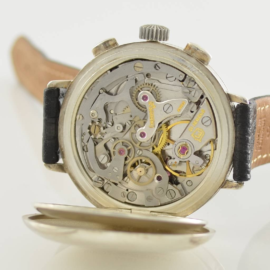 EBERHARD & Co. gents wristwatch with chronograph - 6
