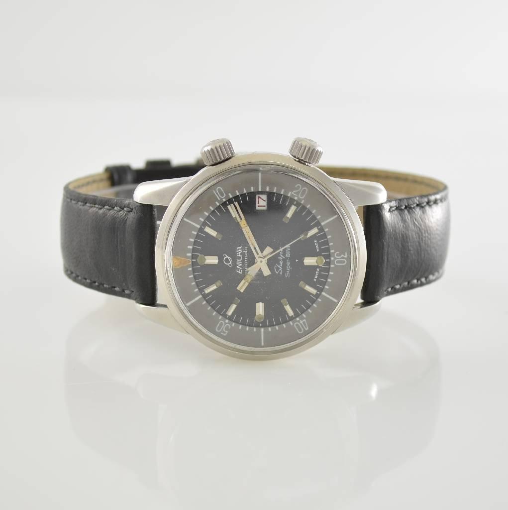 ENICAR Sherpa Super-Dive gents wristwatch