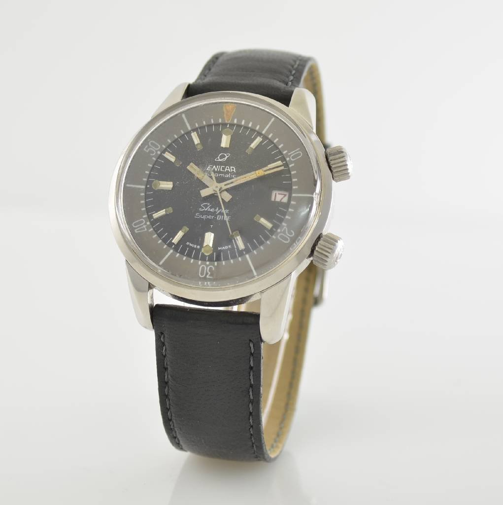 ENICAR Sherpa Super-Dive gents wristwatch - 3