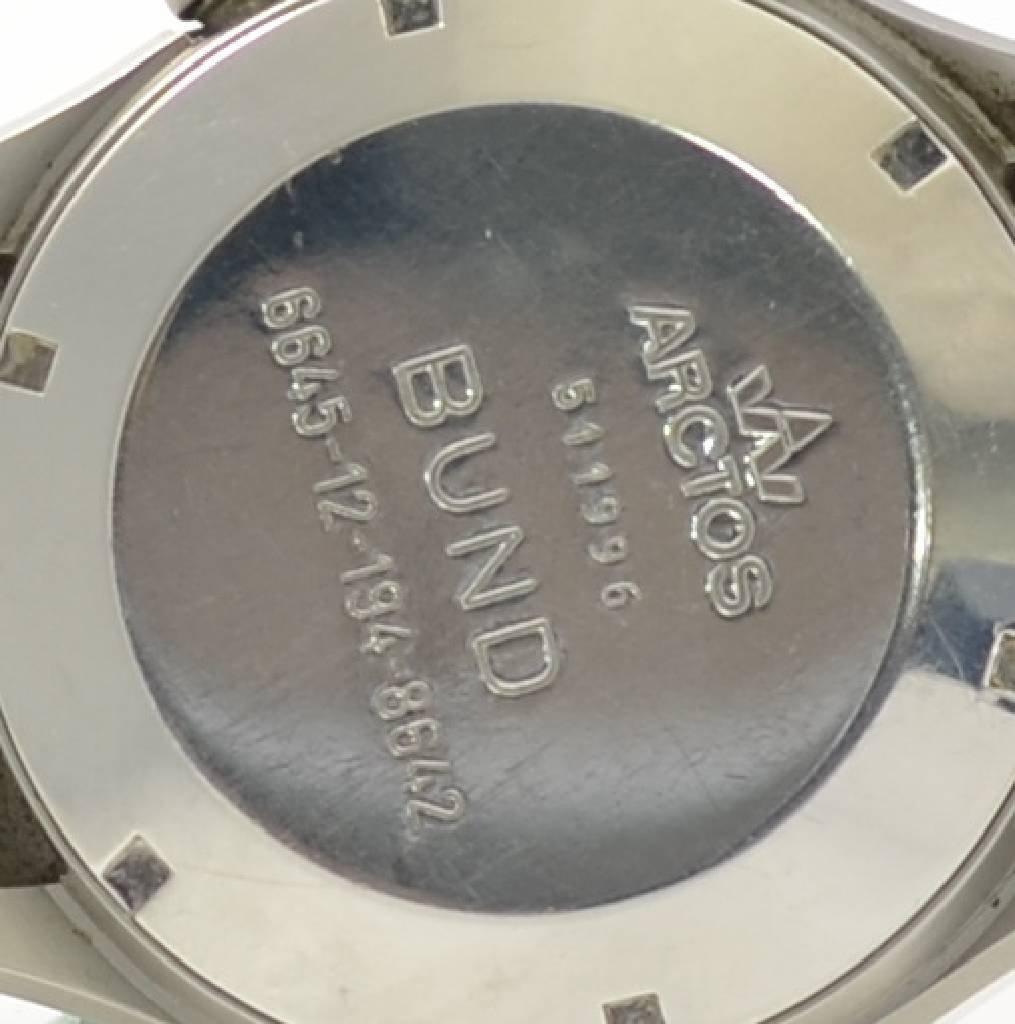 ARCTOS rare military chronograph BUND 6645-12 -194-8642 - 3