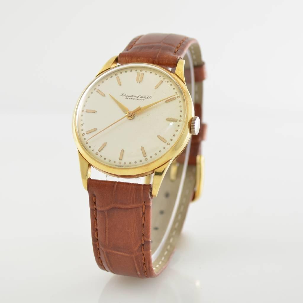 IWC 18k yellow gold gents wristwatch - 2