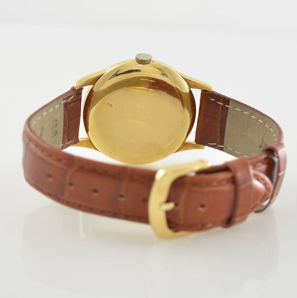 IWC 18k yellow gold gents wristwatch - 3