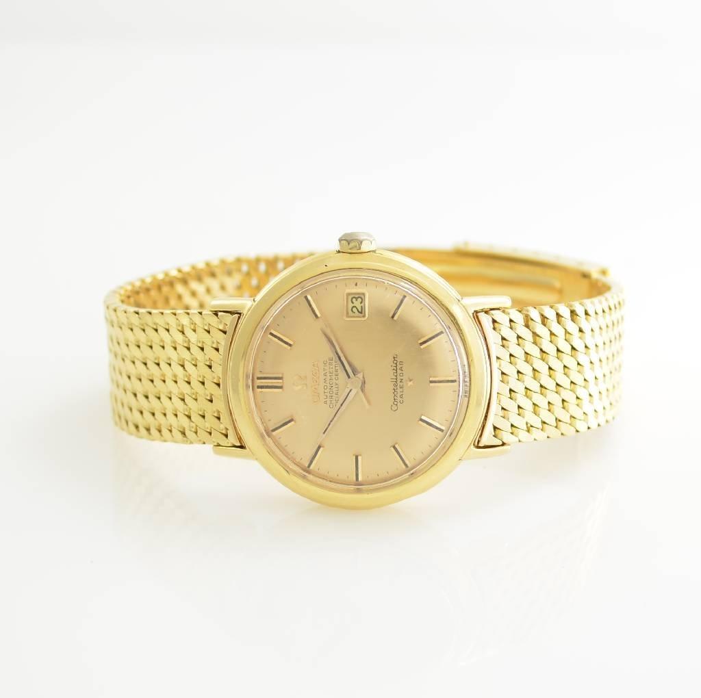 OMEGA 18k yellow gold Constellation Chronometer