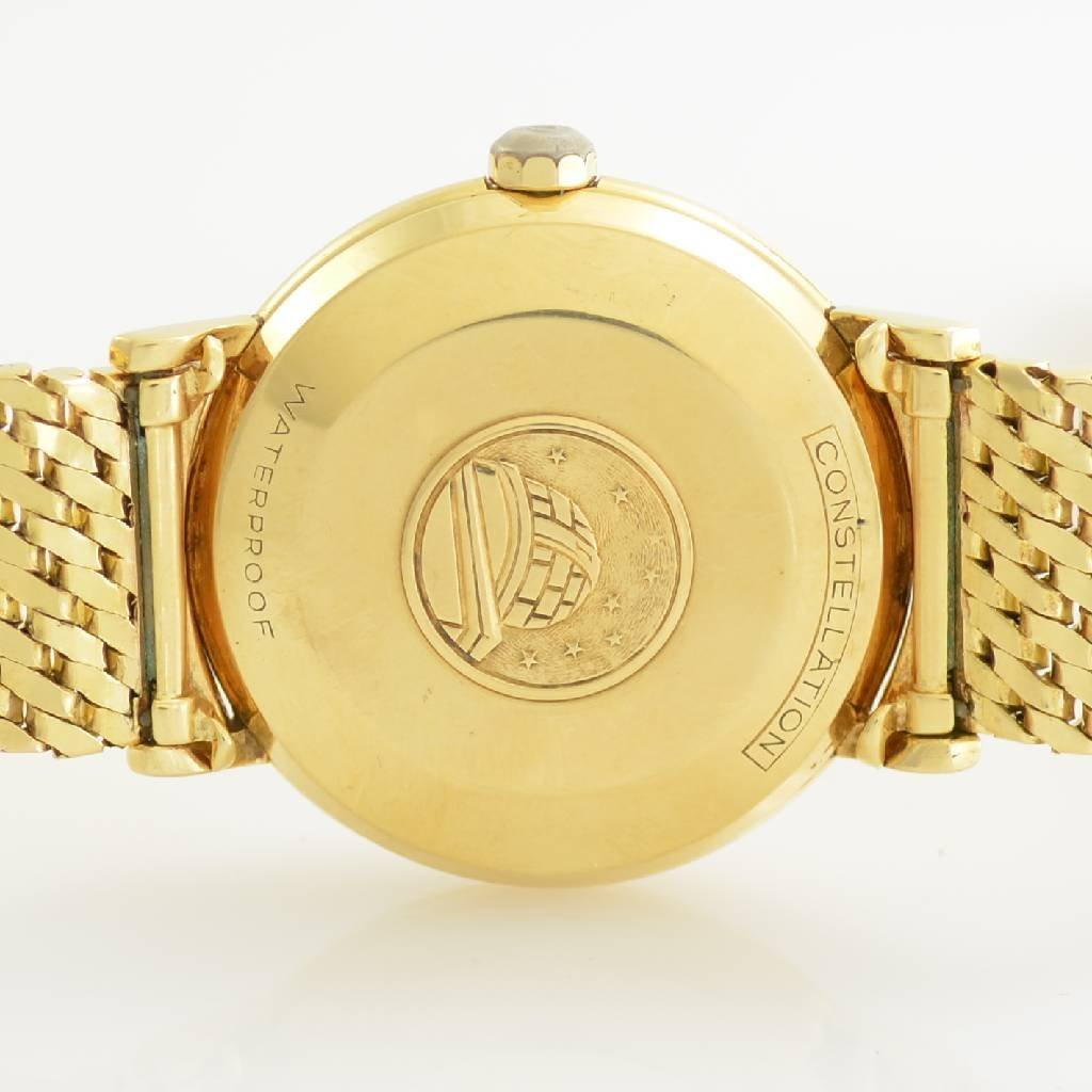 OMEGA 18k yellow gold Constellation Chronometer - 4