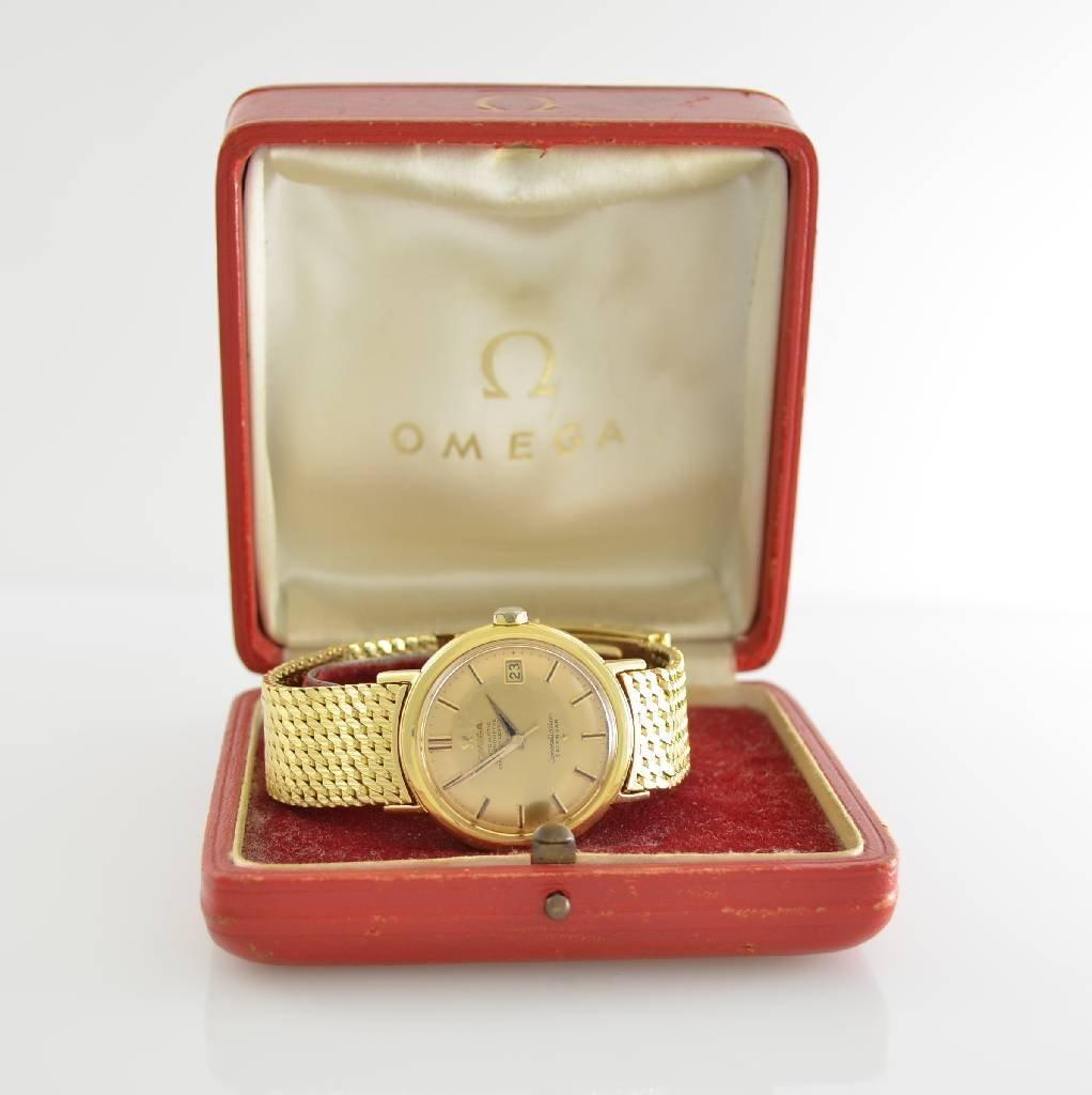 OMEGA 18k yellow gold Constellation Chronometer - 7