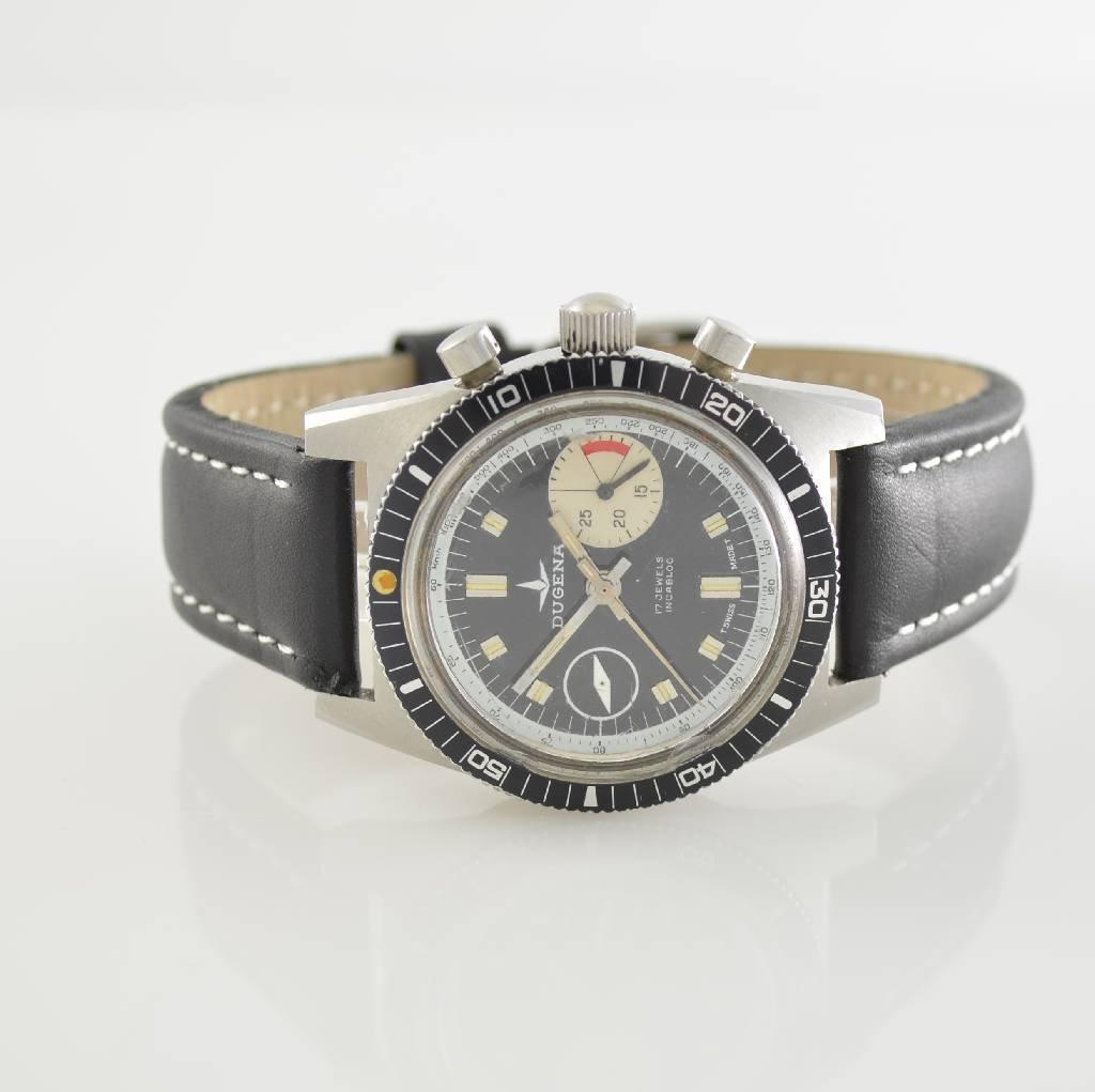 DUGENA vintage chronograph, Switzerland around 1970