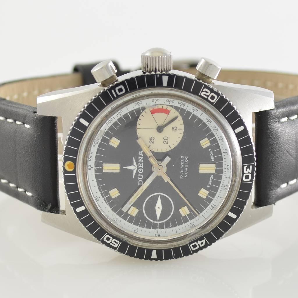 DUGENA vintage chronograph, Switzerland around 1970 - 2