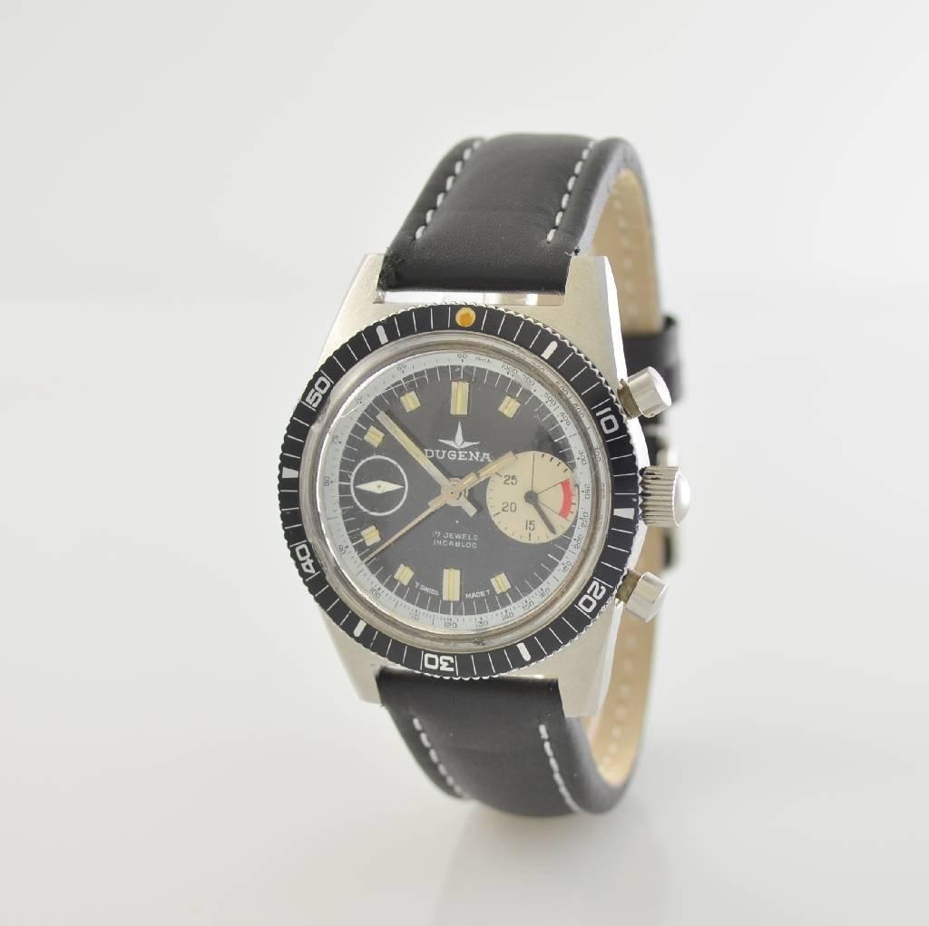 DUGENA vintage chronograph, Switzerland around 1970 - 3
