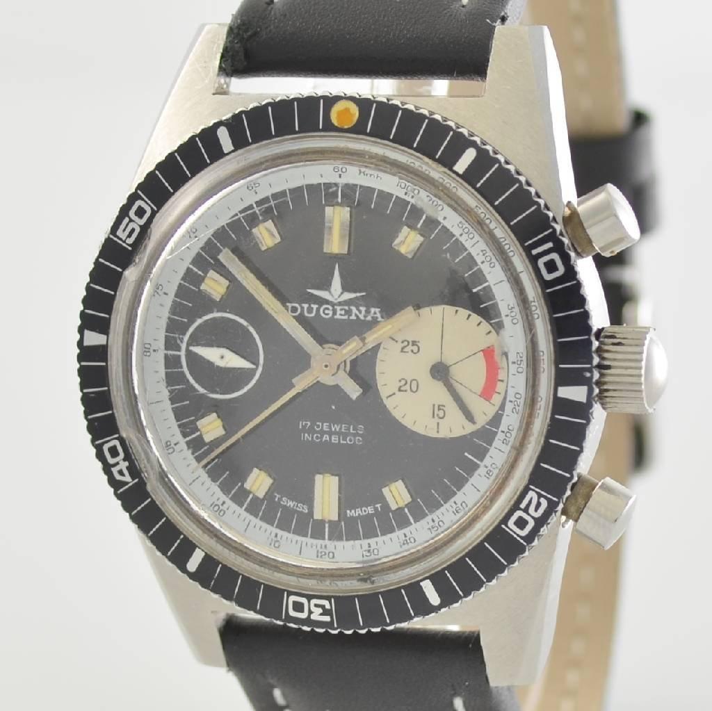 DUGENA vintage chronograph, Switzerland around 1970 - 4