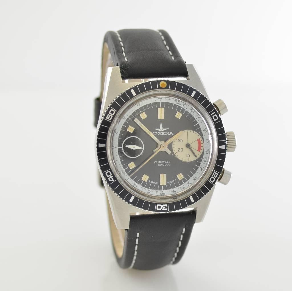 DUGENA vintage chronograph, Switzerland around 1970 - 5
