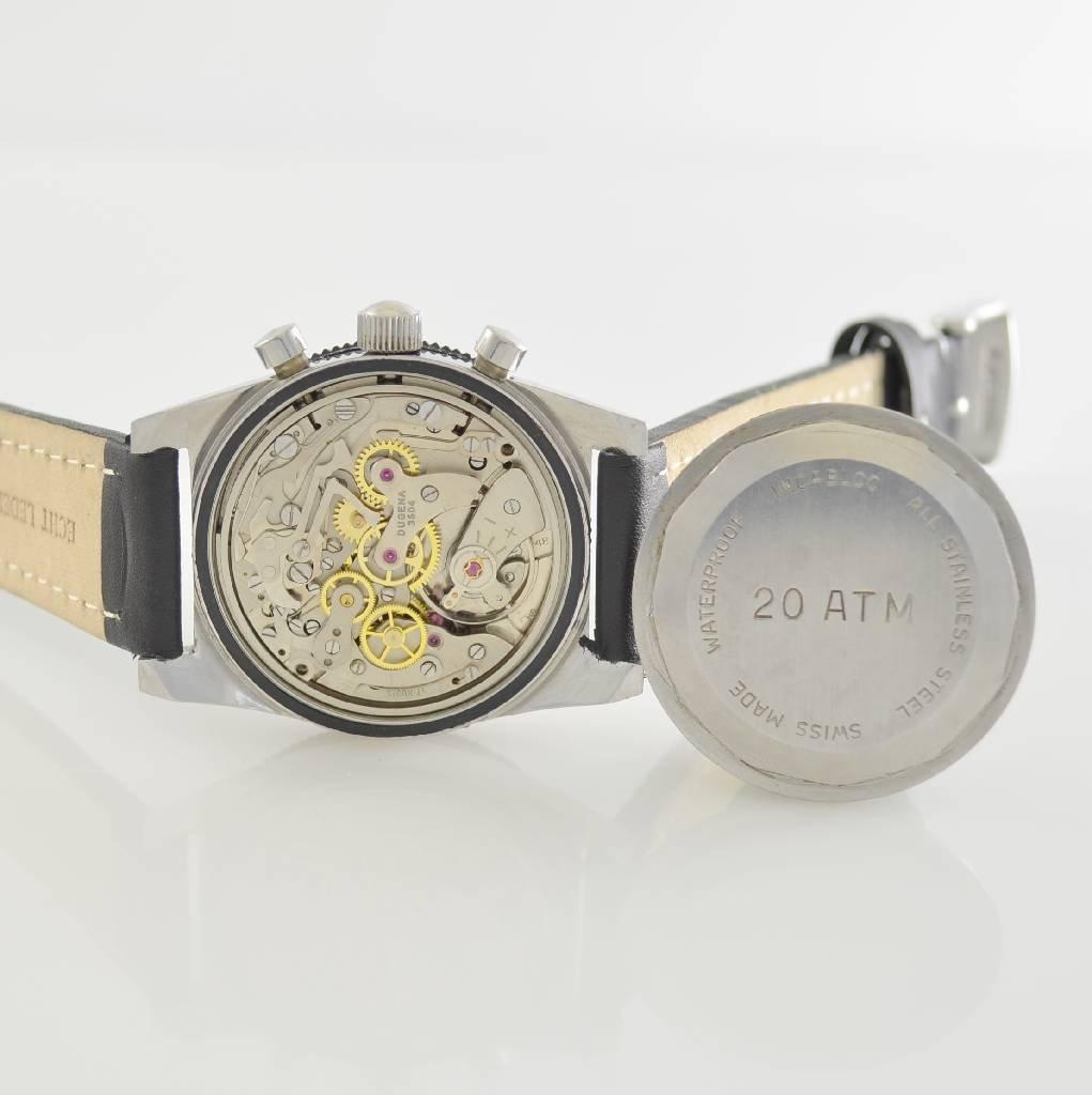 DUGENA vintage chronograph, Switzerland around 1970 - 7
