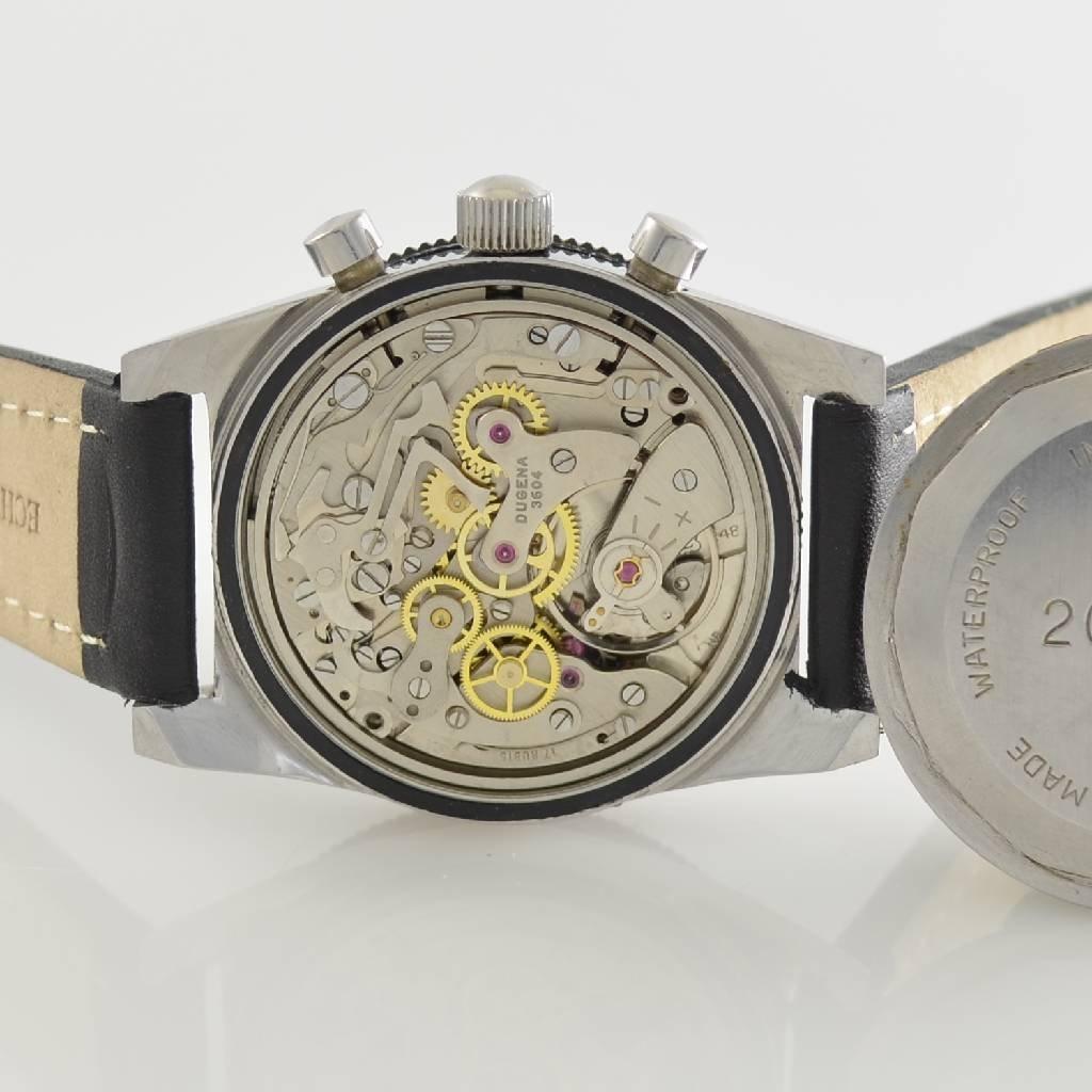 DUGENA vintage chronograph, Switzerland around 1970 - 8