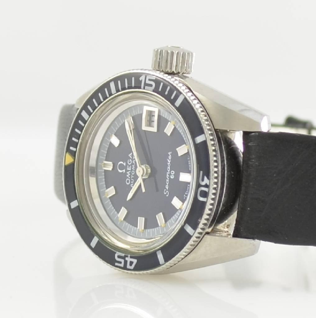 OMEGA rare ladies wristwatch Seamaster 60 - 2