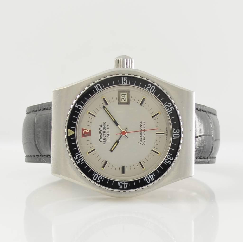 OMEGA gents wristwatch Seamaster Electronic f 300 Hz