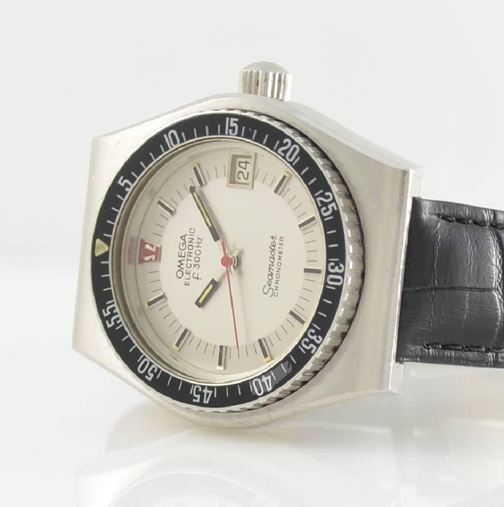 OMEGA gents wristwatch Seamaster Electronic f 300 Hz - 2