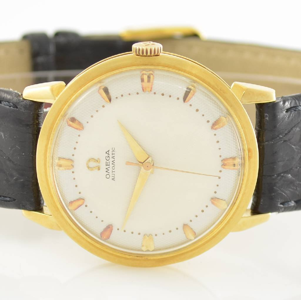 OMEGA gents wristwatch with bumper automatic - 2