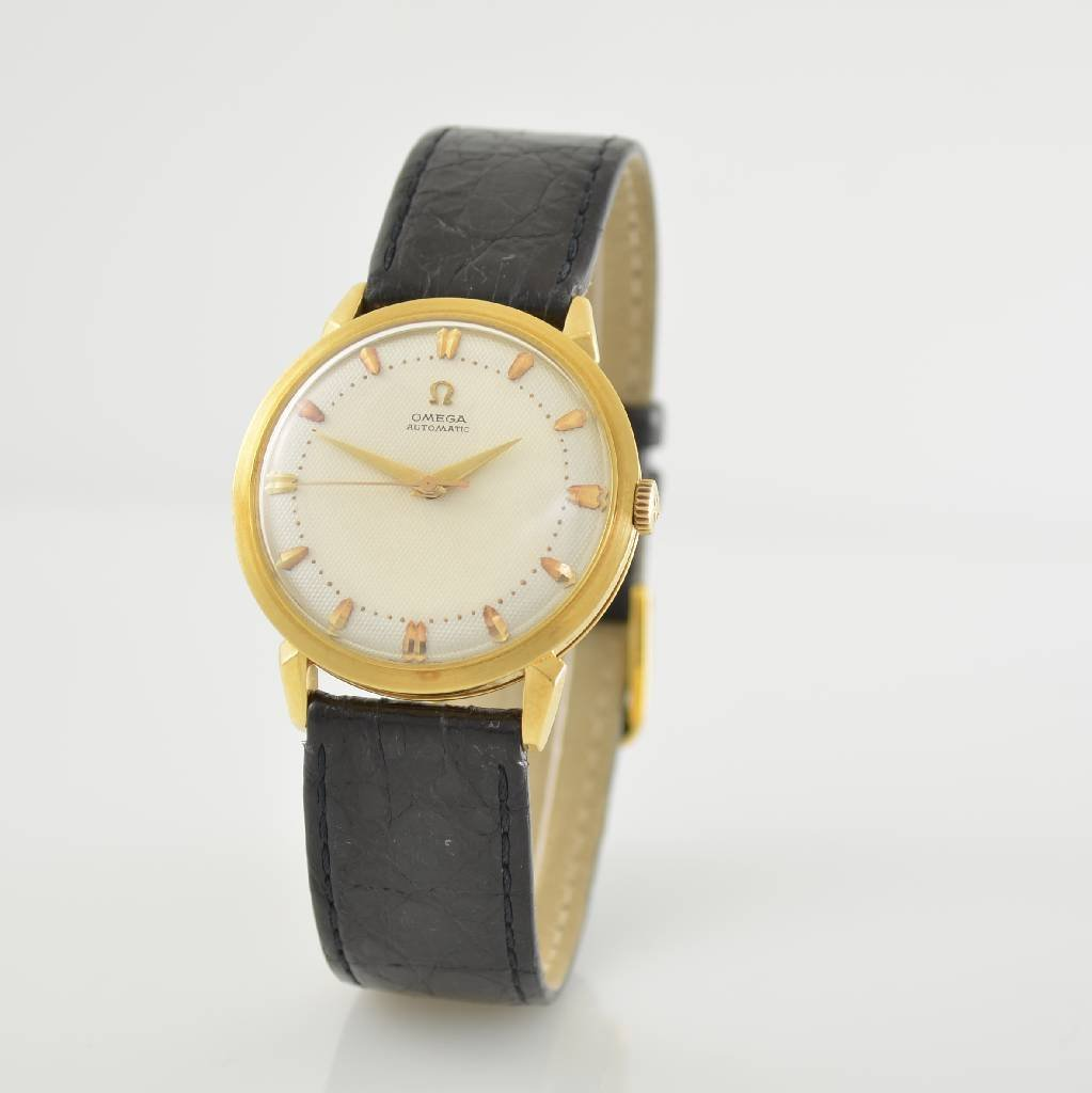 OMEGA gents wristwatch with bumper automatic - 3
