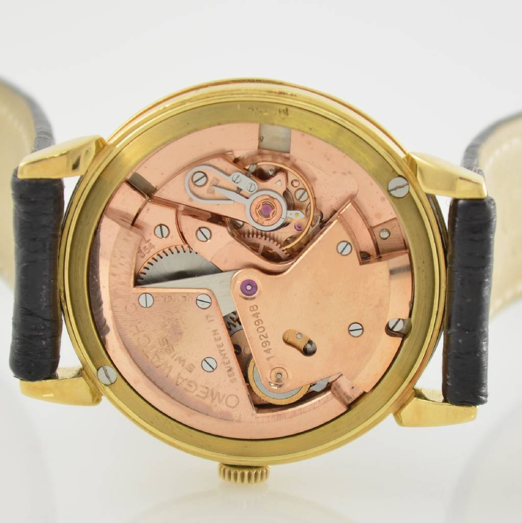OMEGA gents wristwatch with bumper automatic - 6