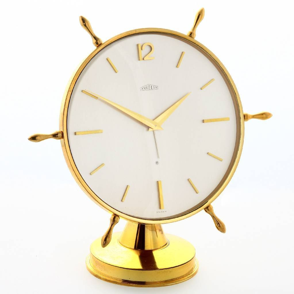 ANGELUS table alarm clock with 8-days movement - 6