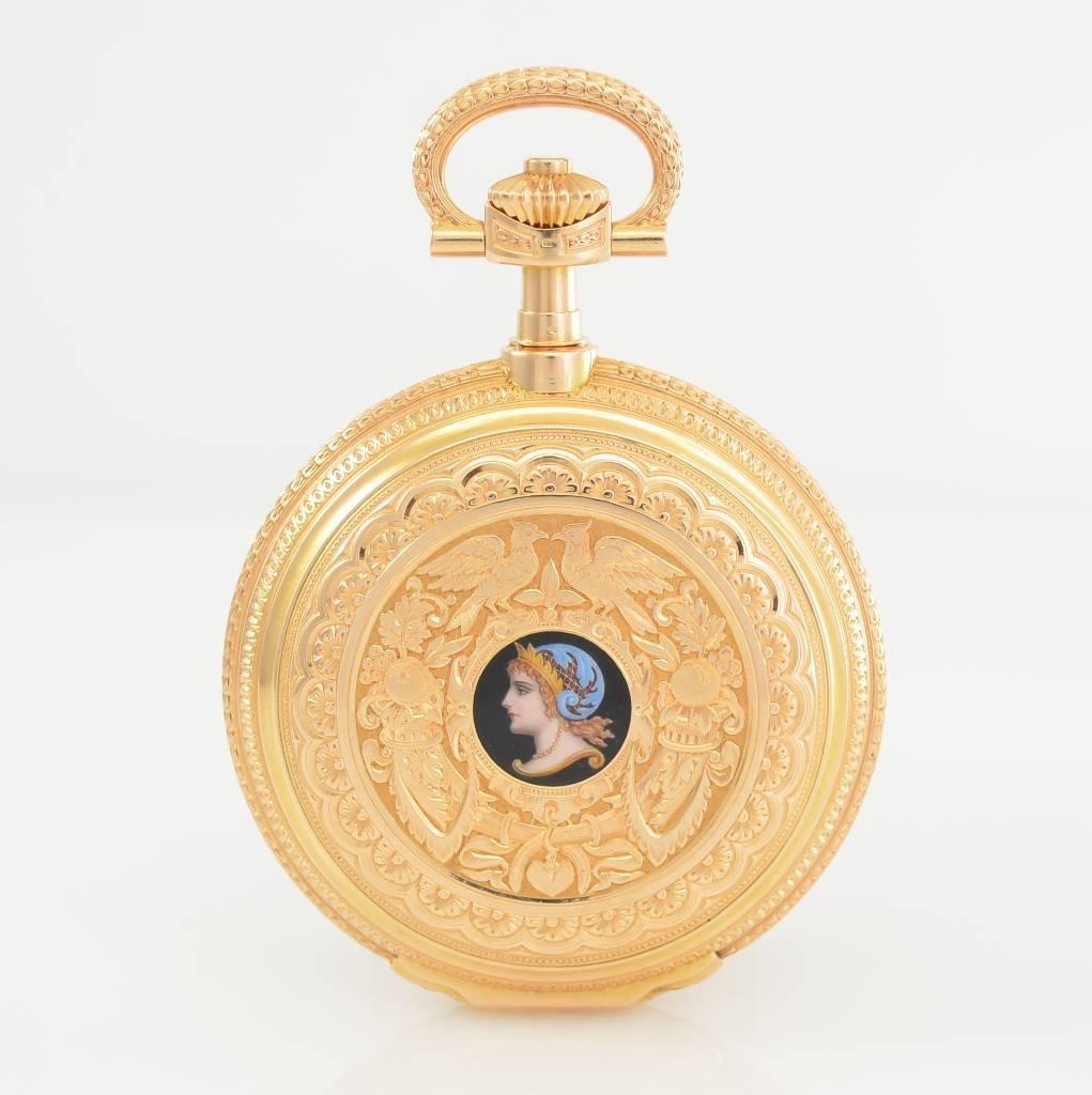A. LANGE & SOHNE unique Tourbillon pocket watch No.