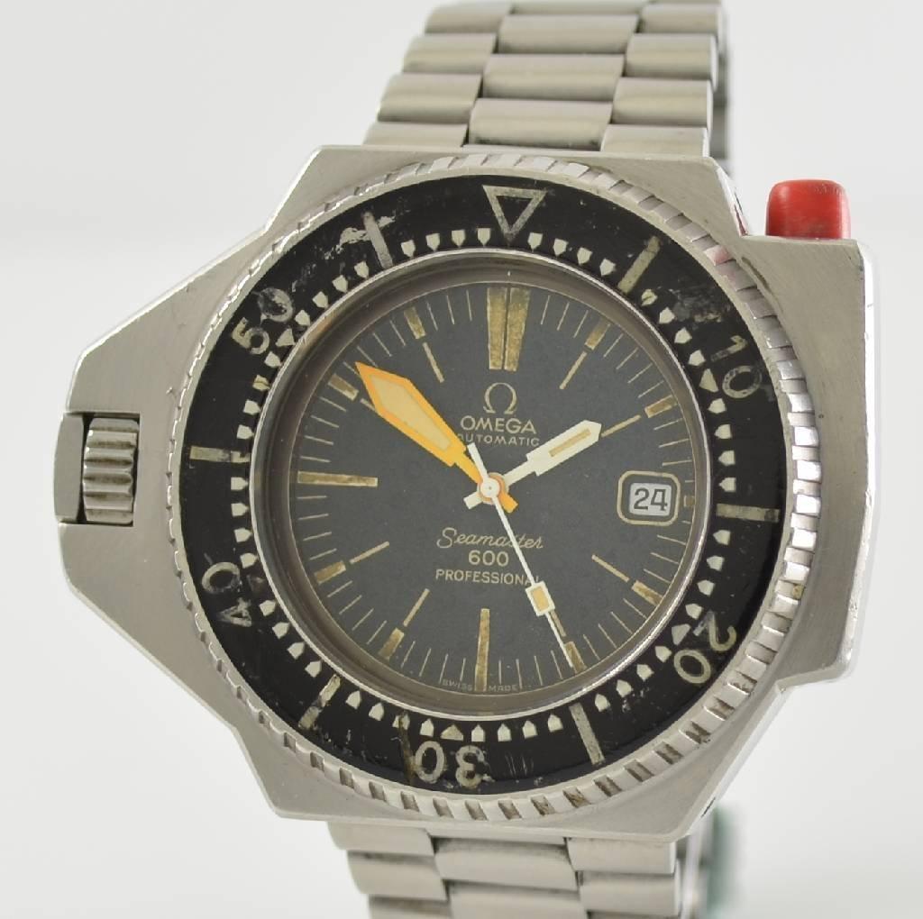 OMEGA Seamaster 600 Professional rare wristwatch - 10