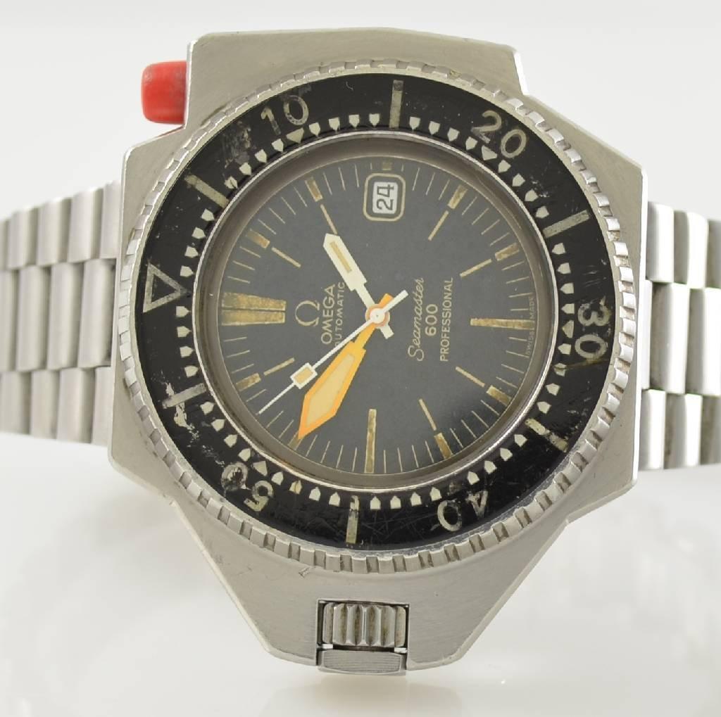 OMEGA Seamaster 600 Professional rare wristwatch - 2