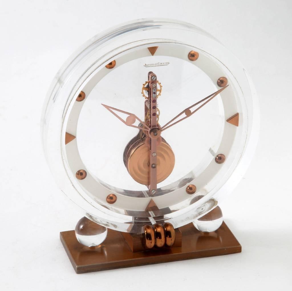 Jaeger-LeCoultre clock 'Pendulette'