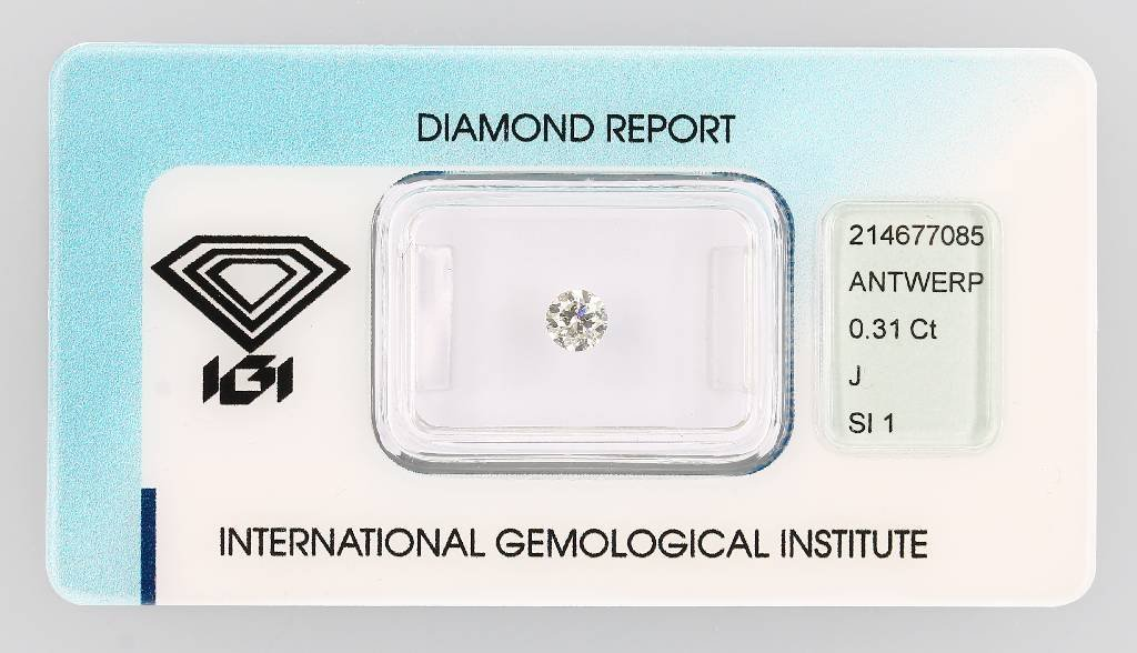 Brilliant 0.31 ct