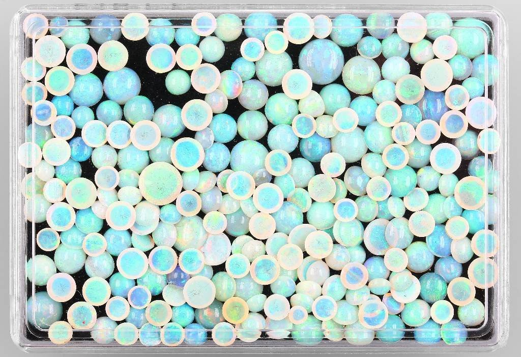 Lot loose opal cabochon