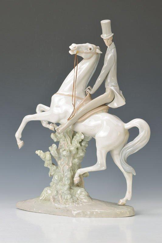 large, figurine, Lladro