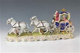 Large Porcelain carriage