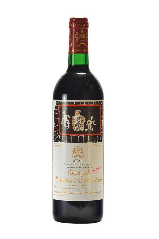 1 bottle of 1994 Chateau Mouton Rothschild, Pauillac