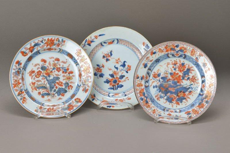 three plates, China