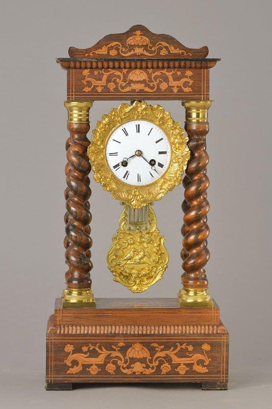 Portal clock