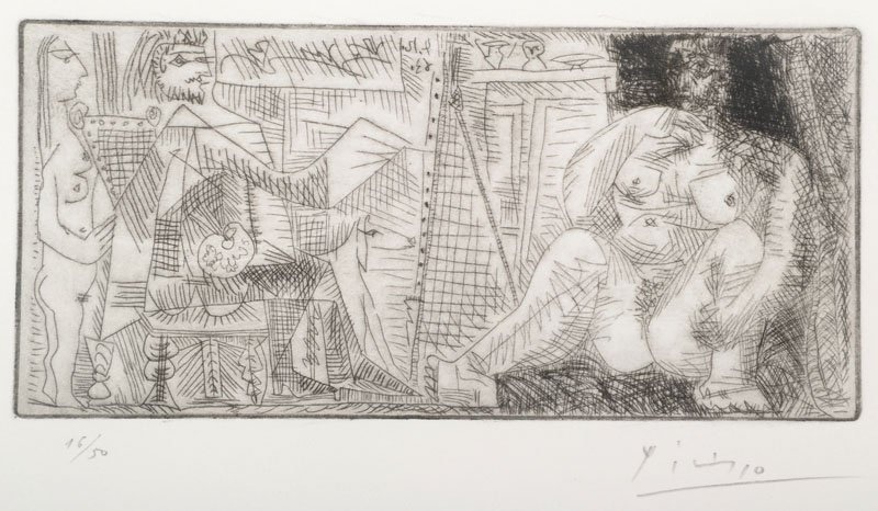 Pablo Picasso, 1881-1973, etching