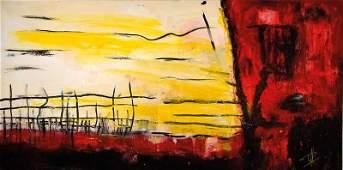 Paul Hermann, born 1948, acrylic / oil on canvas