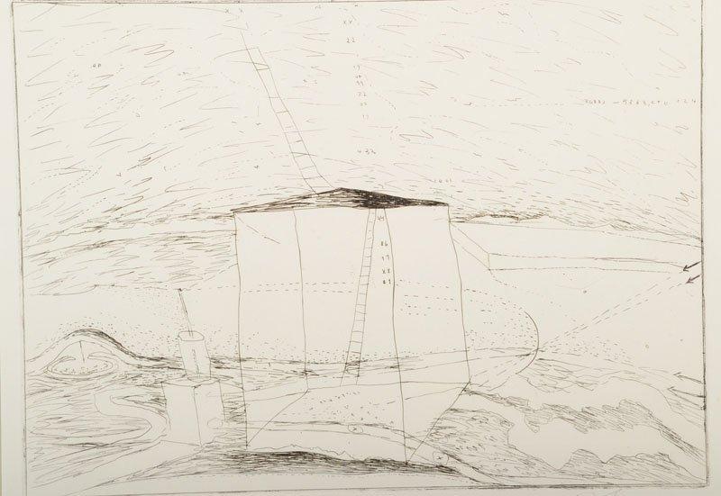 Karl Bohrmann, 1928 - 1998, etching
