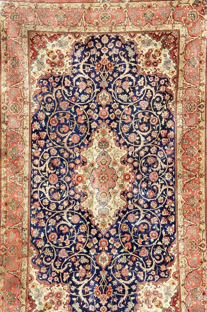 Silk Qum (Signed),