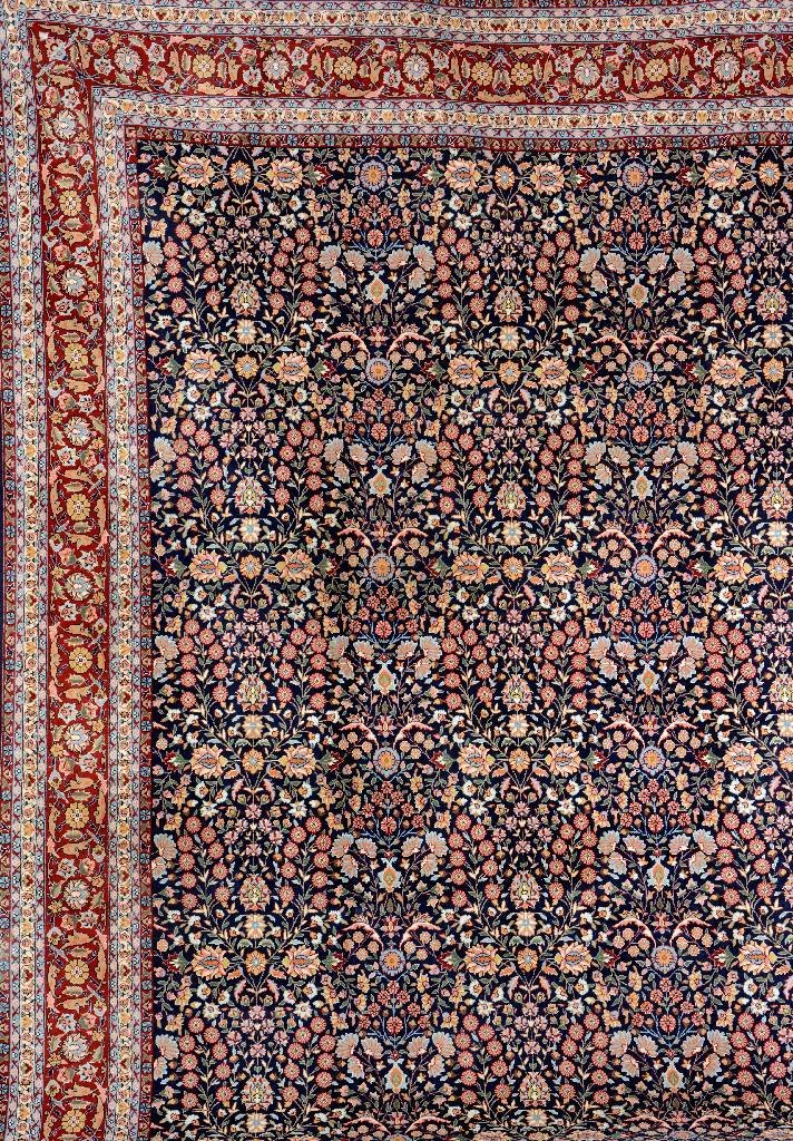 Hereke 'Wool-Carpet' (Signed),