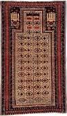 'Camel-Wool' Baluch 'Prayer-Rug',